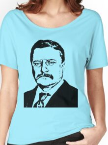THEODORE ROOSEVELT (LARGE) Women's Relaxed Fit T-Shirt