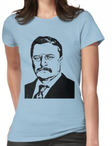THEODORE ROOSEVELT (LARGE) Womens Fitted T-Shirt
