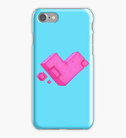 Cubic Heart iPhone Case/Skin