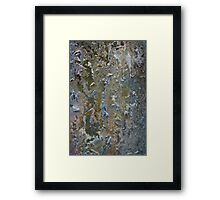 Volcanic Landmasses 3, Section 2 Framed Print