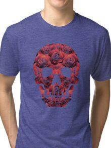 Skull and Roses Tri-blend T-Shirt