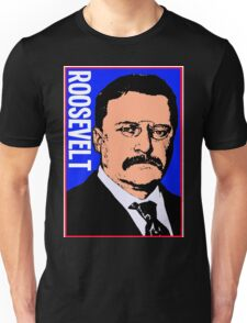 THEODORE ROOSEVELT-COLOR Unisex T-Shirt