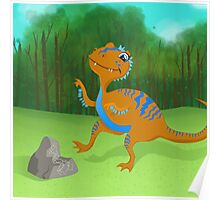 Now Watch Me… Acrocanthosaurus Poster