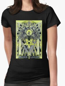 """""""MORE LIGHT"""" Womens Fitted T-Shirt"""
