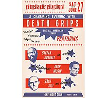 Retro Death Grips Photographic Print
