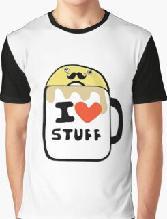 Coffee and Donuts Graphic T-Shirt