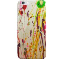 Splattered Abstract Painting iPhone Case/Skin