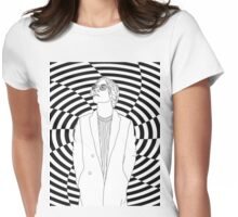 Hypno Matt Womens Fitted T-Shirt