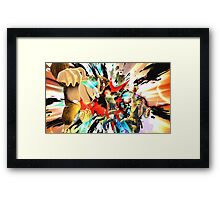 Dat Smash Framed Print
