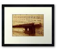 Your Touch Framed Print