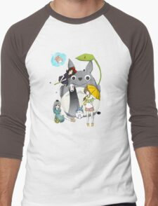 Ghibli Family Men's Baseball ¾ T-Shirt
