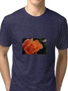 Peach Rose Tri-blend T-Shirt