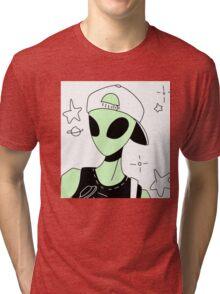 ALIEN 004 Tri-blend T-Shirt