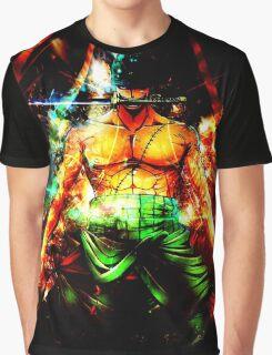 Roronoa Zoro - Let's Battle!! Graphic T-Shirt