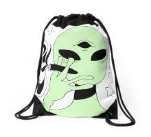 ALIEN 005 Drawstring Bag