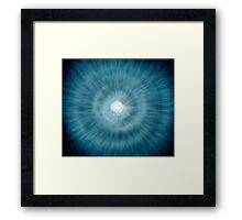 White Hole Framed Print