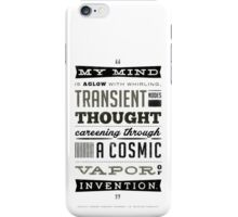 Blazing Saddles Quote Hedley Lamar Harvey Korman Mel Brooks (White T-shirt Version) iPhone Case/Skin