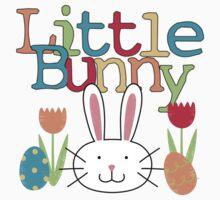 Easter Bunny Boy Little Bunny Baby Tee