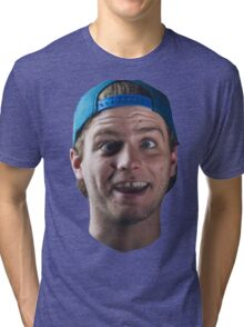 Mac DeMarco Head Tri-blend T-Shirt