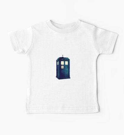 Olde Fashioned TARDIS Baby Tee