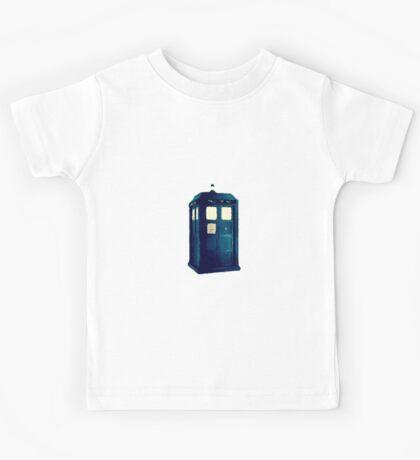 Olde Fashioned TARDIS Kids Tee