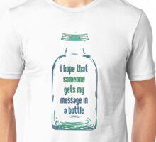 Message In A Bottle Unisex T-Shirt