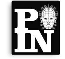 P(A)IN Pinhead Hellraiser Canvas Print