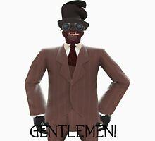 "TF2 Gibus Spy ""Gentlemen!"" Unisex T-Shirt"