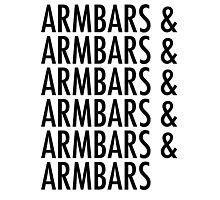 Armbars & Armbars & Armbars Photographic Print