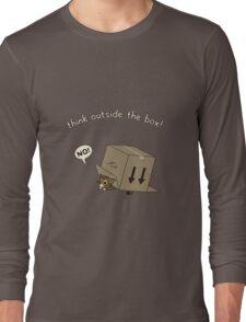 Think Outside the Box! Long Sleeve T-Shirt