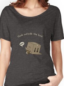 Think Outside the Box! Women's Relaxed Fit T-Shirt