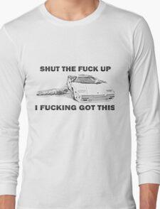 Wolf of Wall Street Countach STFU Long Sleeve T-Shirt
