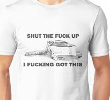 Wolf of Wall Street Countach STFU Unisex T-Shirt
