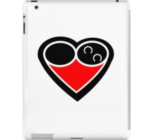 Eternal love logo horse iPad Case/Skin