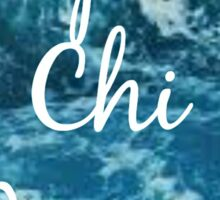 Alpha Chi Omega Ocean Sticker