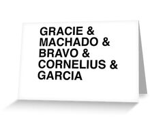 Jiu Jitsu Royalty Greeting Card