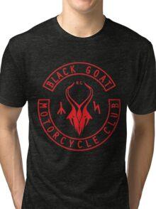 Black Goat Motorcycle Club Tri-blend T-Shirt