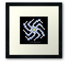LIU Galaxy Framed Print