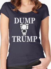 DUMP TRUMP Women's Fitted Scoop T-Shirt