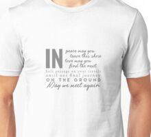 Clexa-Travelers Blessing Unisex T-Shirt