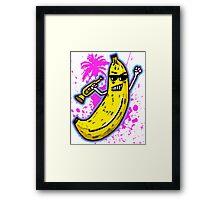 Ska Banana  Framed Print