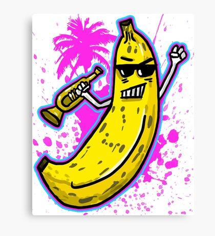 Ska Banana  Canvas Print