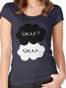 The Fault in Our Stars: Okay? Women's Fitted Scoop T-Shirt