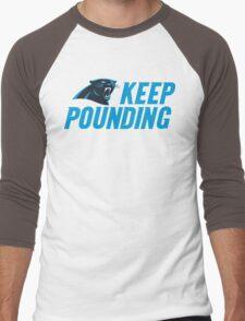 Keep Pounding - Panthers Men's Baseball ¾ T-Shirt