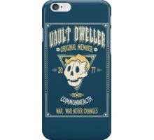 Vault Dweller - Original Member iPhone Case/Skin