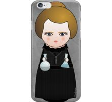 Kokeshi Madame Curie iPhone Case/Skin