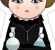 Kokeshi Madame Curie Sticker