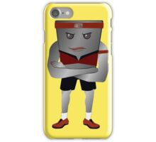 Weight Scale Fitness Trainer (F) iPhone Case/Skin