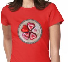 Will You Be My Valentine? Womens Fitted T-Shirt
