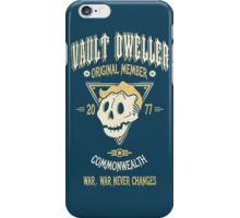 Vault Dweller - Original Member (No Border) iPhone Case/Skin